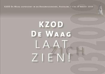 Catalogus expositie Bakenesserkerk 2009