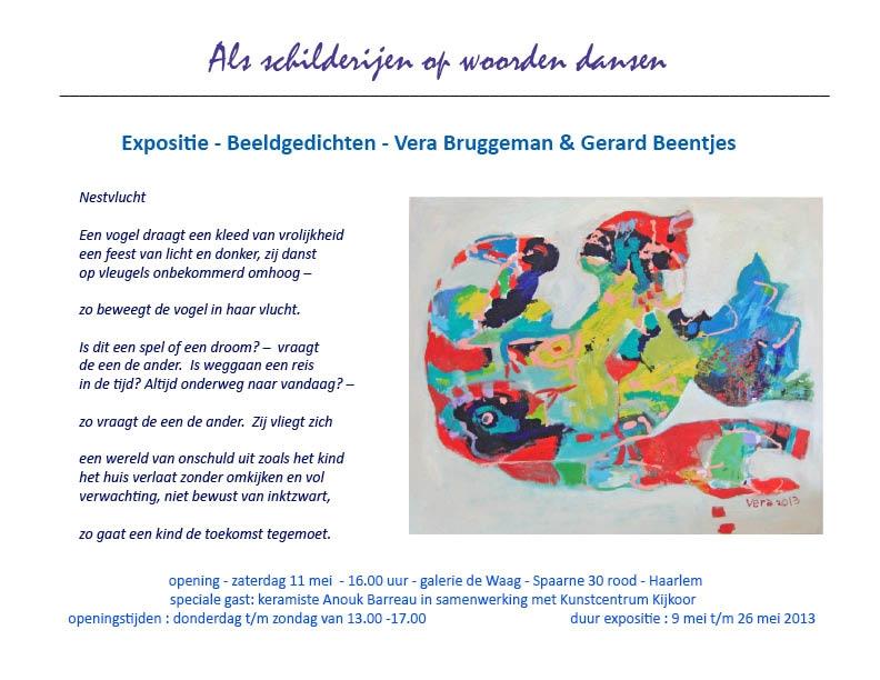 Expositie – Beeldgedichten – Vera Bruggeman en Gerard Beentjes
