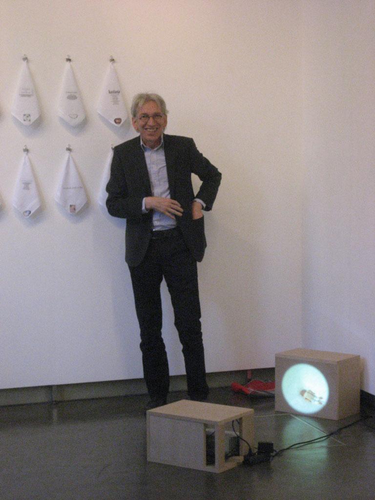 Opening expositie leden van KZOD in Leiden