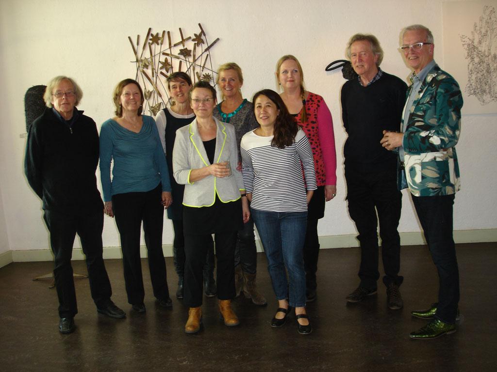 Opening expositie leden van ARS in Haarlem