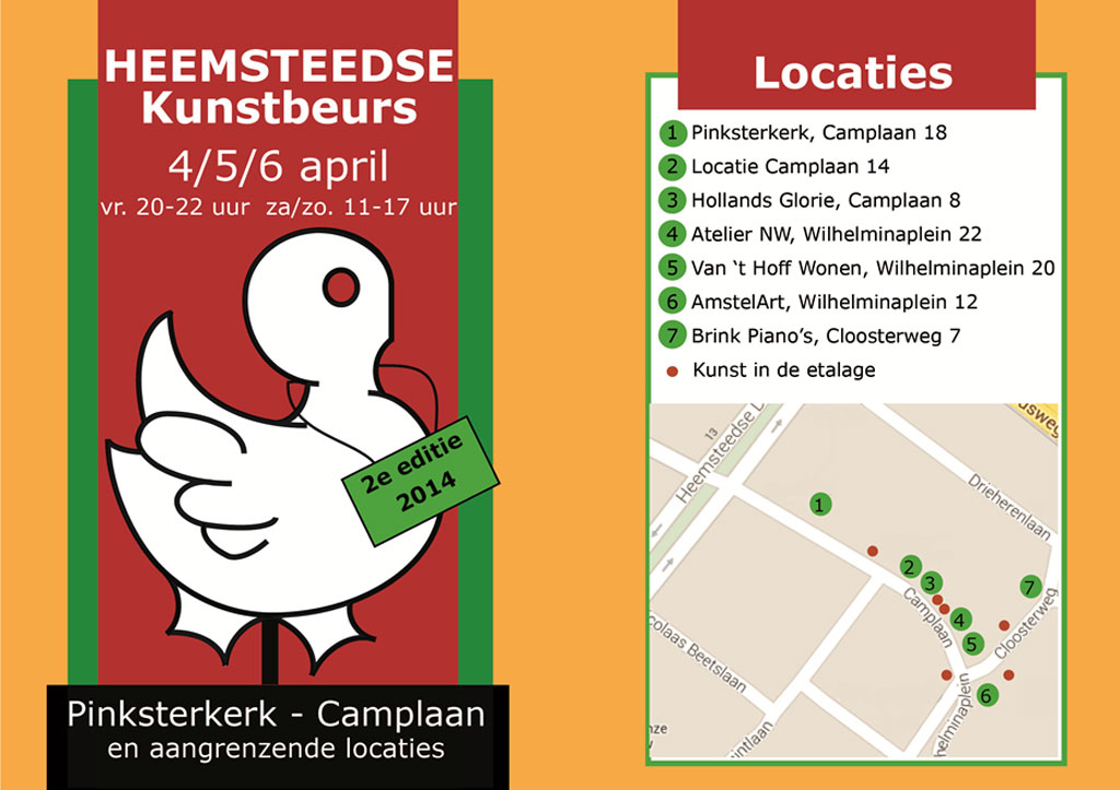 Heemsteedse Kunstbeurs 4/5/6 april