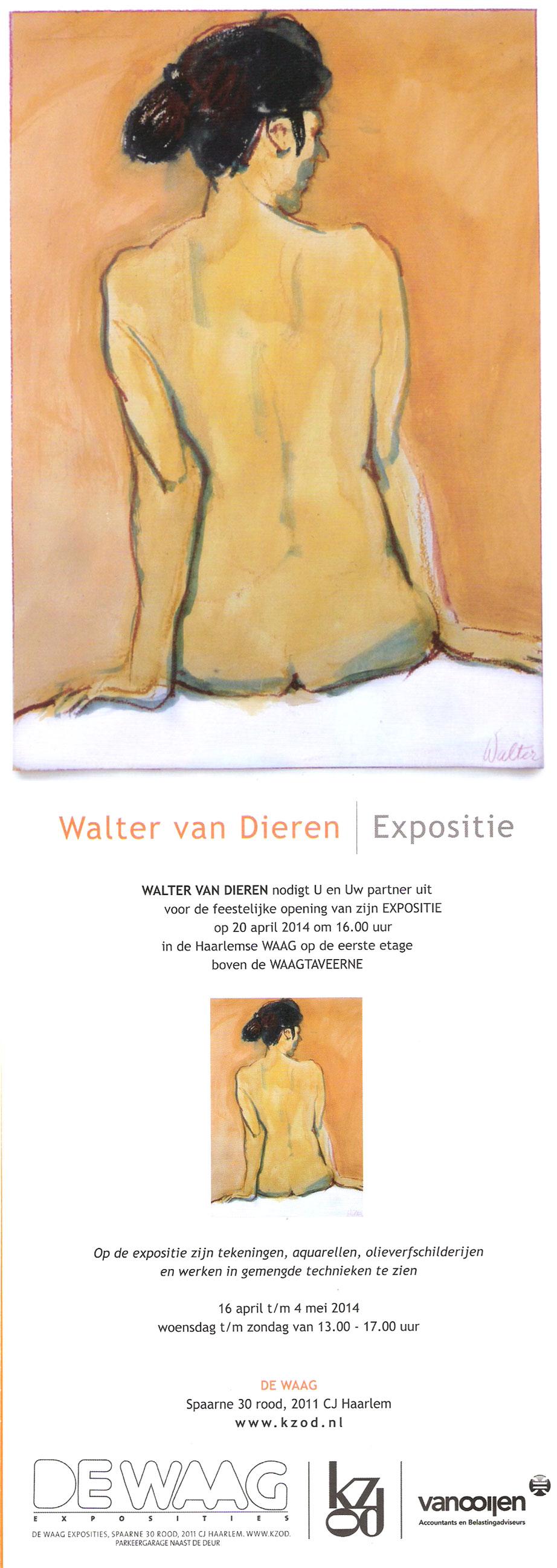 Walter van Dieren | Expositie