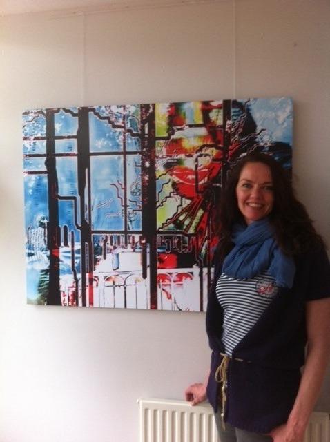 Expositie Yvonne Kok in het Inloophuis Kennemerland