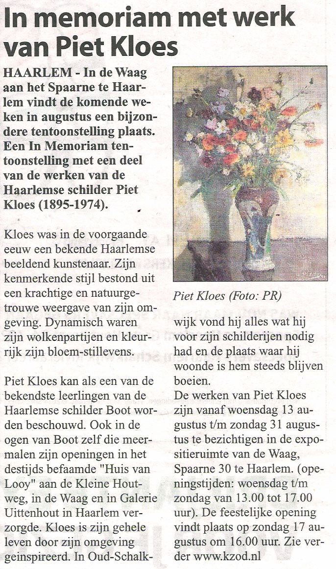 Haarlems-Weekblad--2014-Piet-Kloes-in-de-Waag