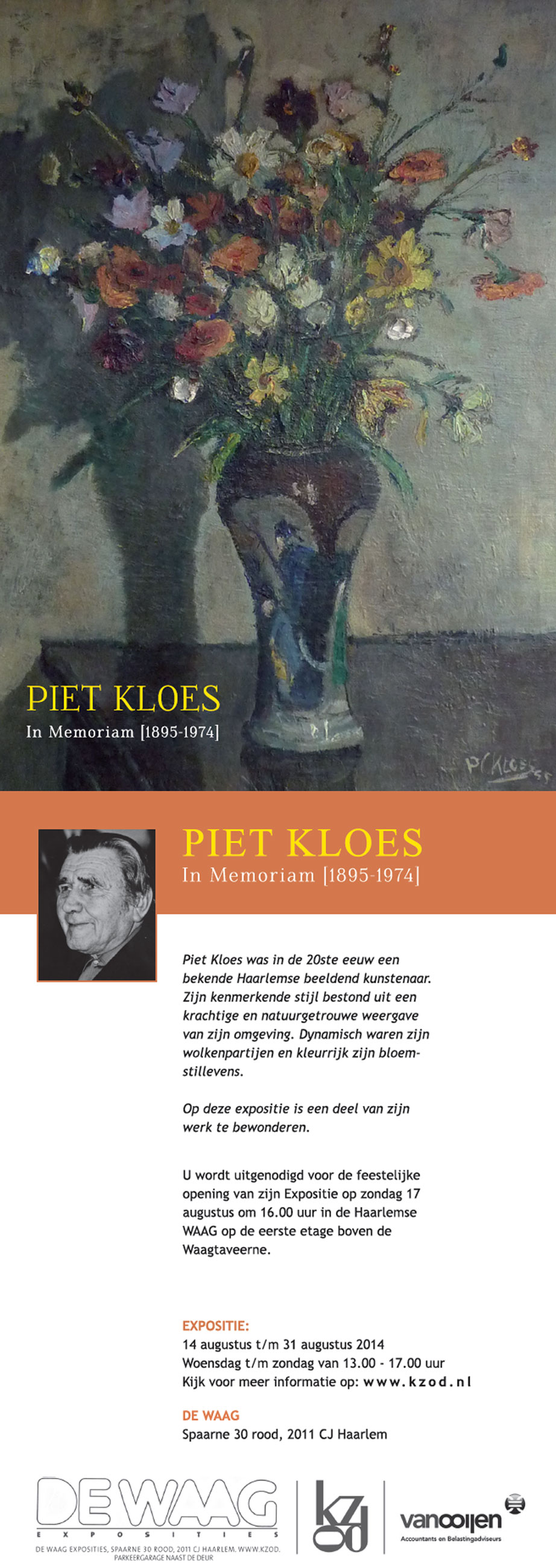 Expositie | Piet Kloes
