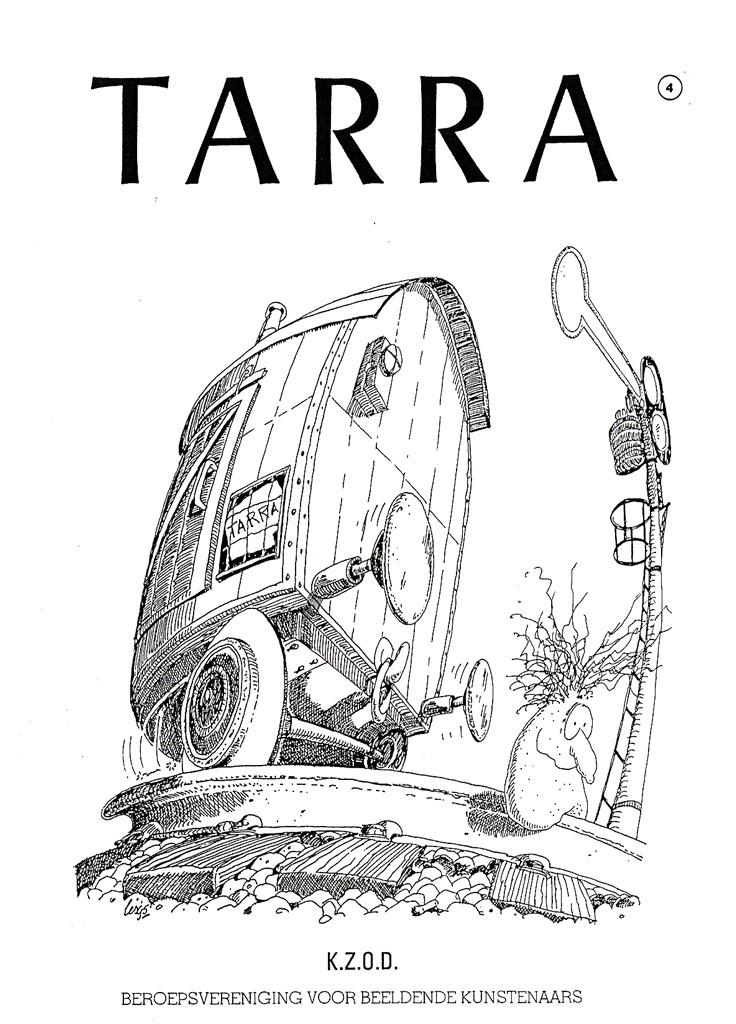 TARRA | omslagtekening KZOD verenigingsblad 1995 [04]