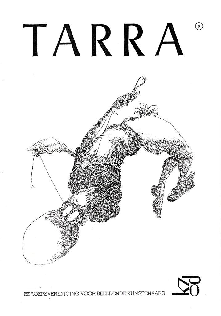 TARRA | omslagtekening KZOD verenigingsblad 1995 [05]