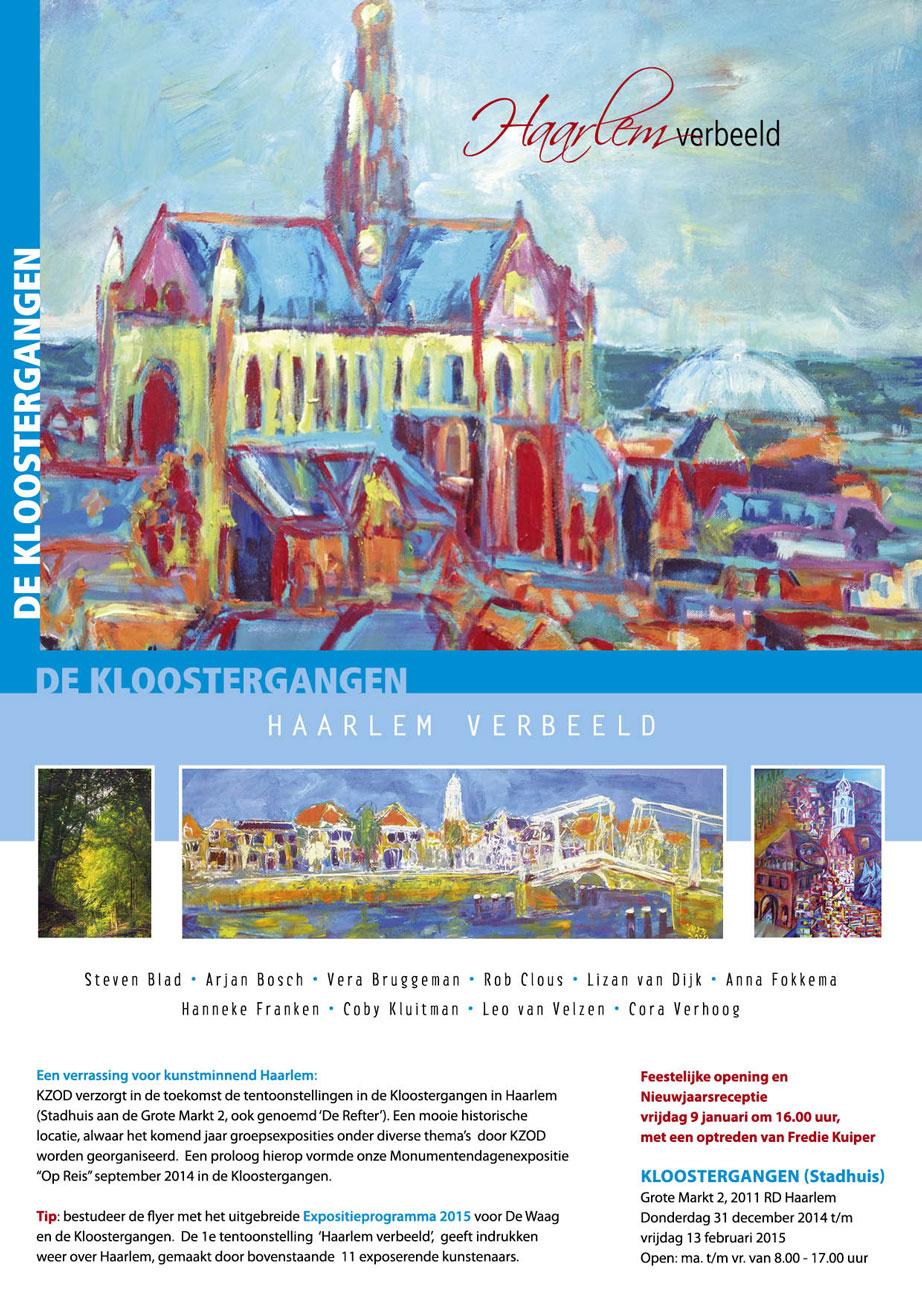 Expositie | Kloostergangen | Haarlem Verbeeld