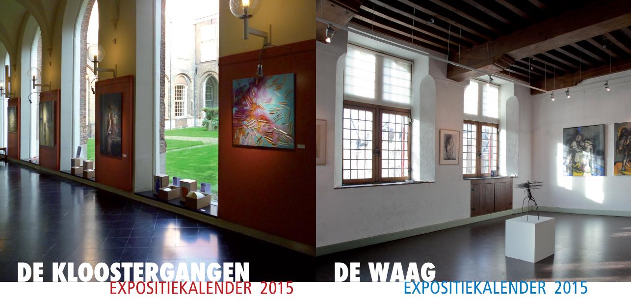 KZOD expositiekalenders 2015 | De Waag en de Kloostergangen