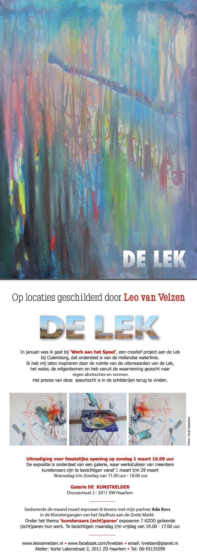 Leo van Velzen | Op locatie geschilderd | De Lek