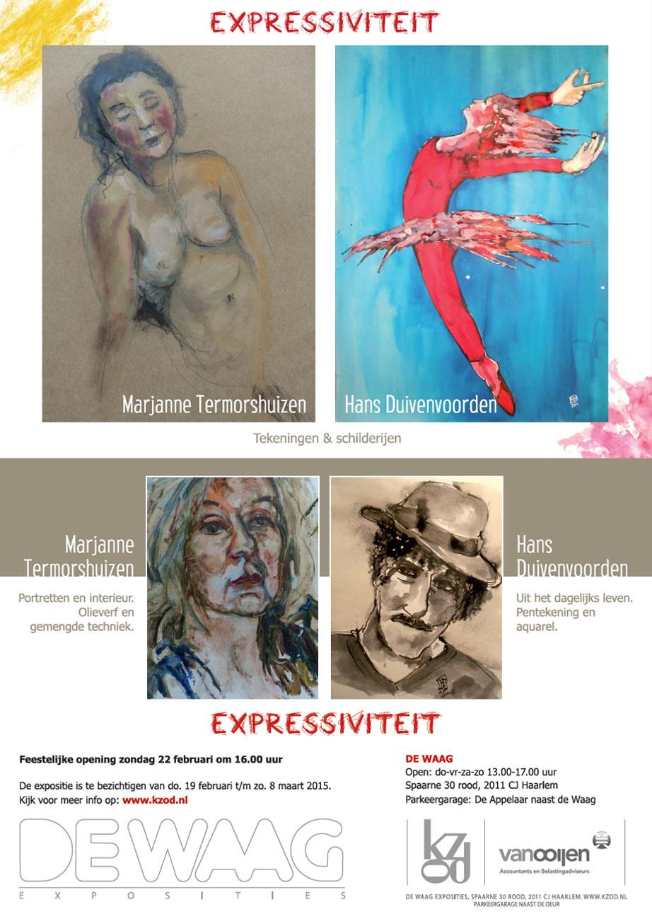 Marjanne-Temorshuizen-en-Hans-Duivenvoorden-expositie-De-Waag-2015