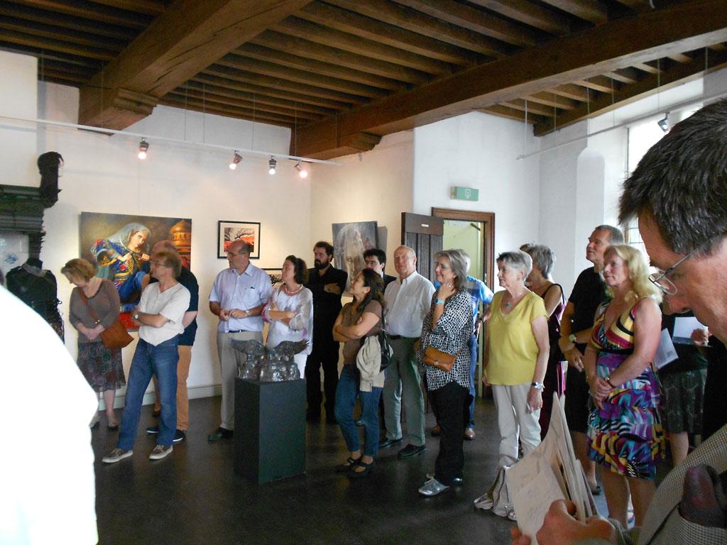 Foto's opening expositie Gentse Gasten