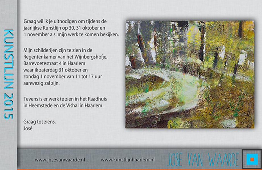 Jose van Waarde - Kunstlijn-2015