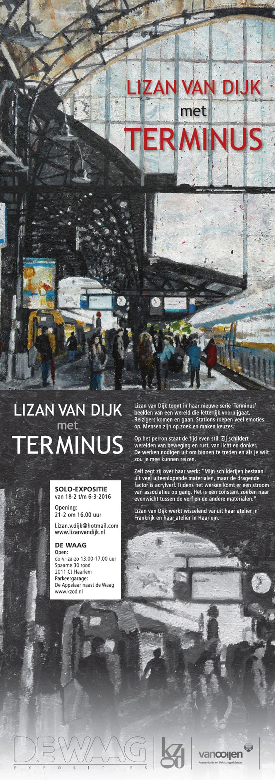 Expositie 'Terminus' | Lizan van Dijk