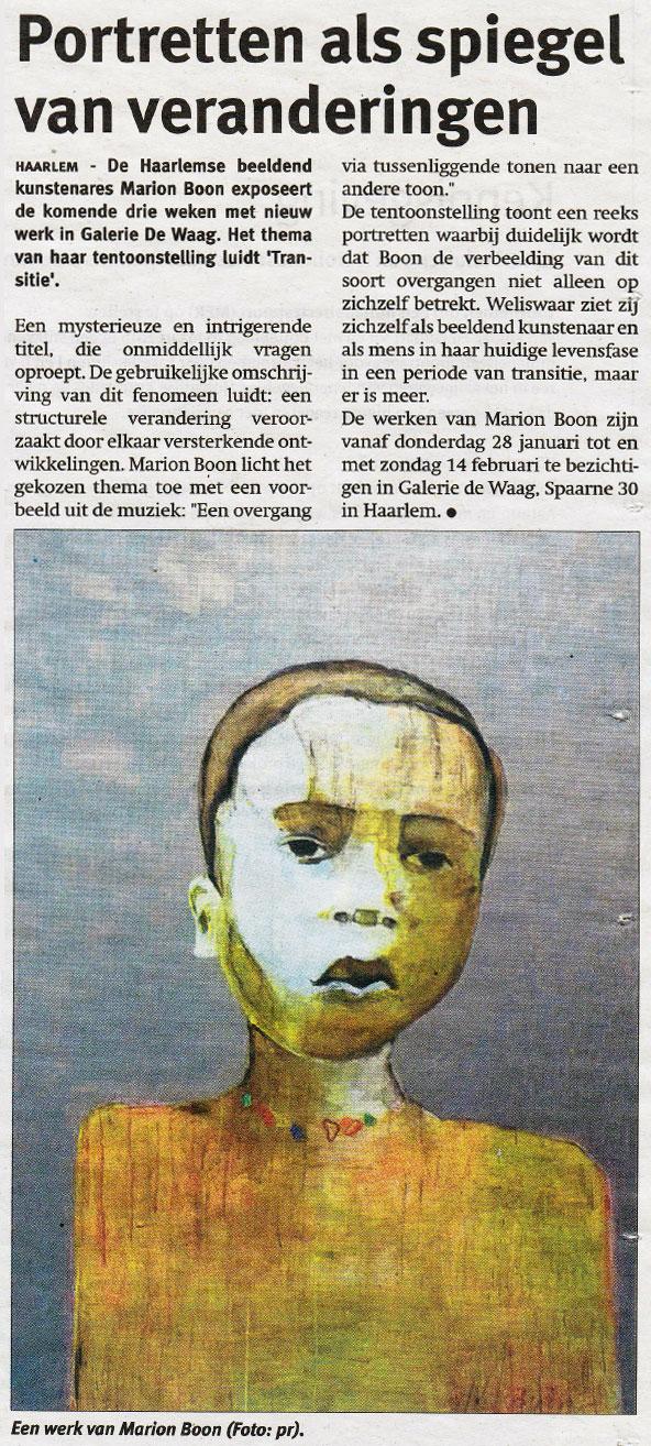 Persbericht | Portretten als spiegel van veranderingen [02]