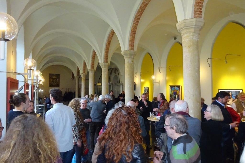 Foto's opening expositie Kunst & Religie