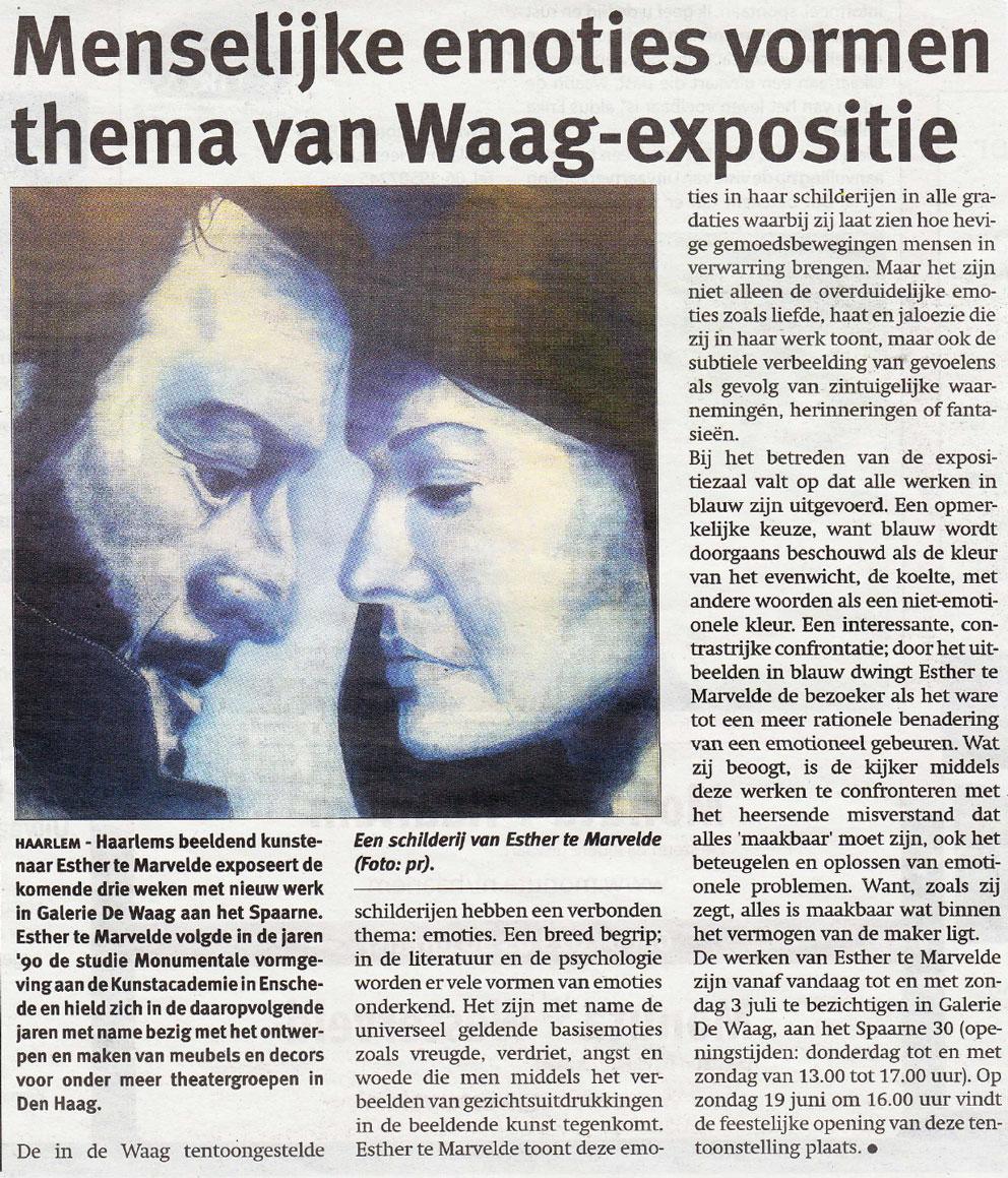 Persbericht | Menselijke emoties vormen thema van Waag-expositie