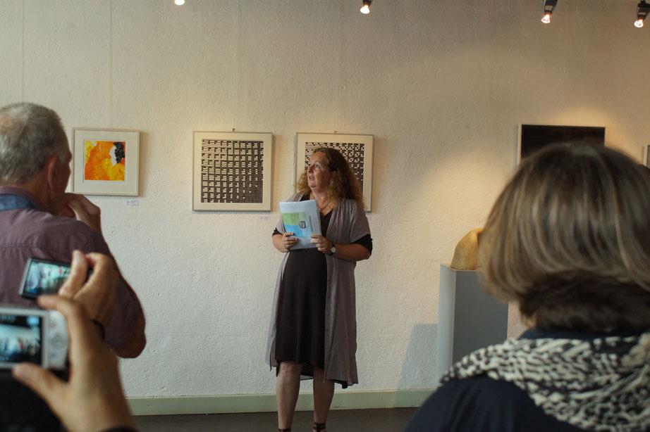Foto´s opening ArtiBrak expositie bij KZOD
