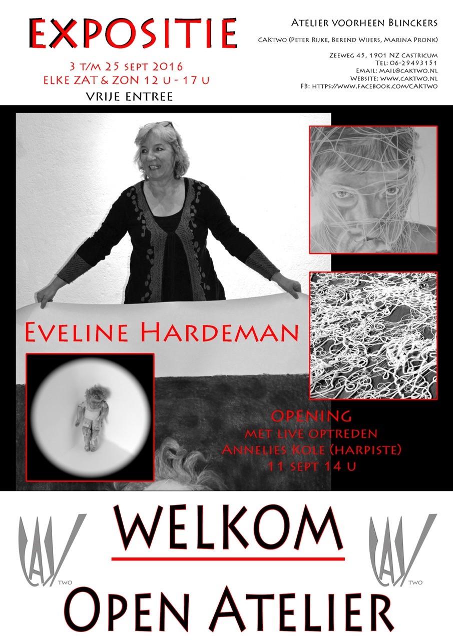 Eveline Hardemans exposeert bij 'Atelier voorheen Blinckers'