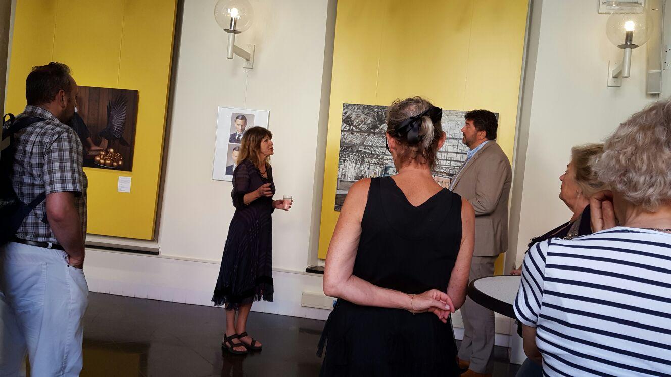 Foto's opening Open Monumentendagen expositie KZOD 2016
