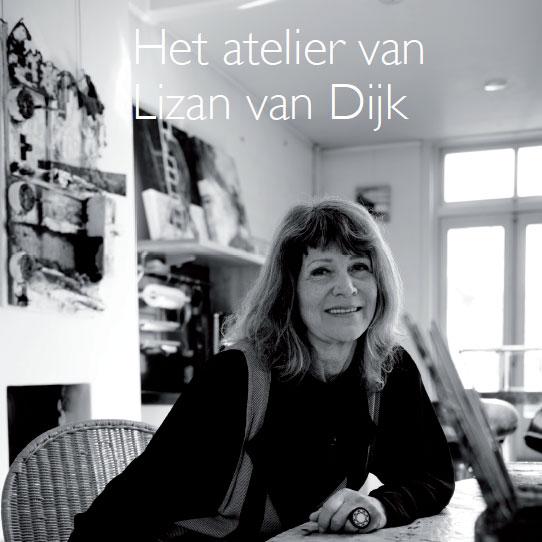 Het atelier van Lizan van Dijk in Haarlemse Stadsglossy