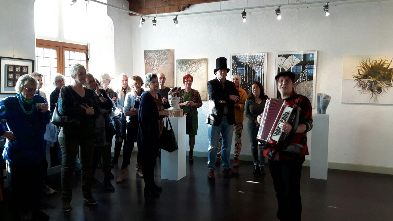 Foto's en toespraak opening Kunstlijnexpositie KZOD 2016