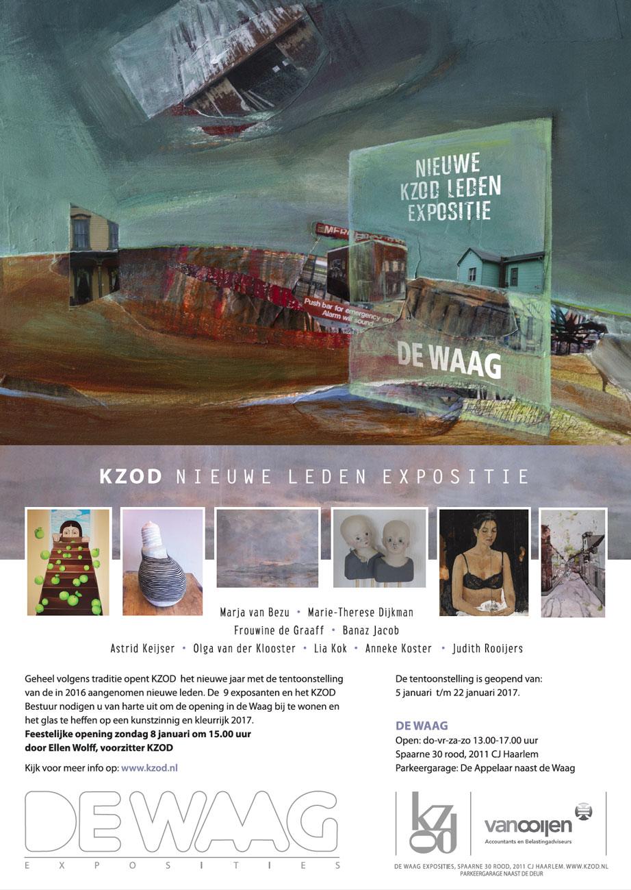 Nieuwe KZOD leden expositie 2017