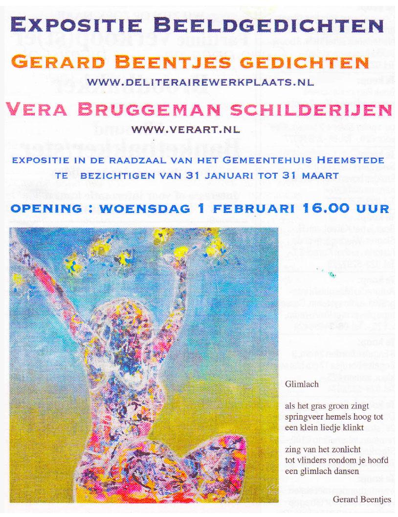 Expositie Beeldgedichten Vera Bruggeman