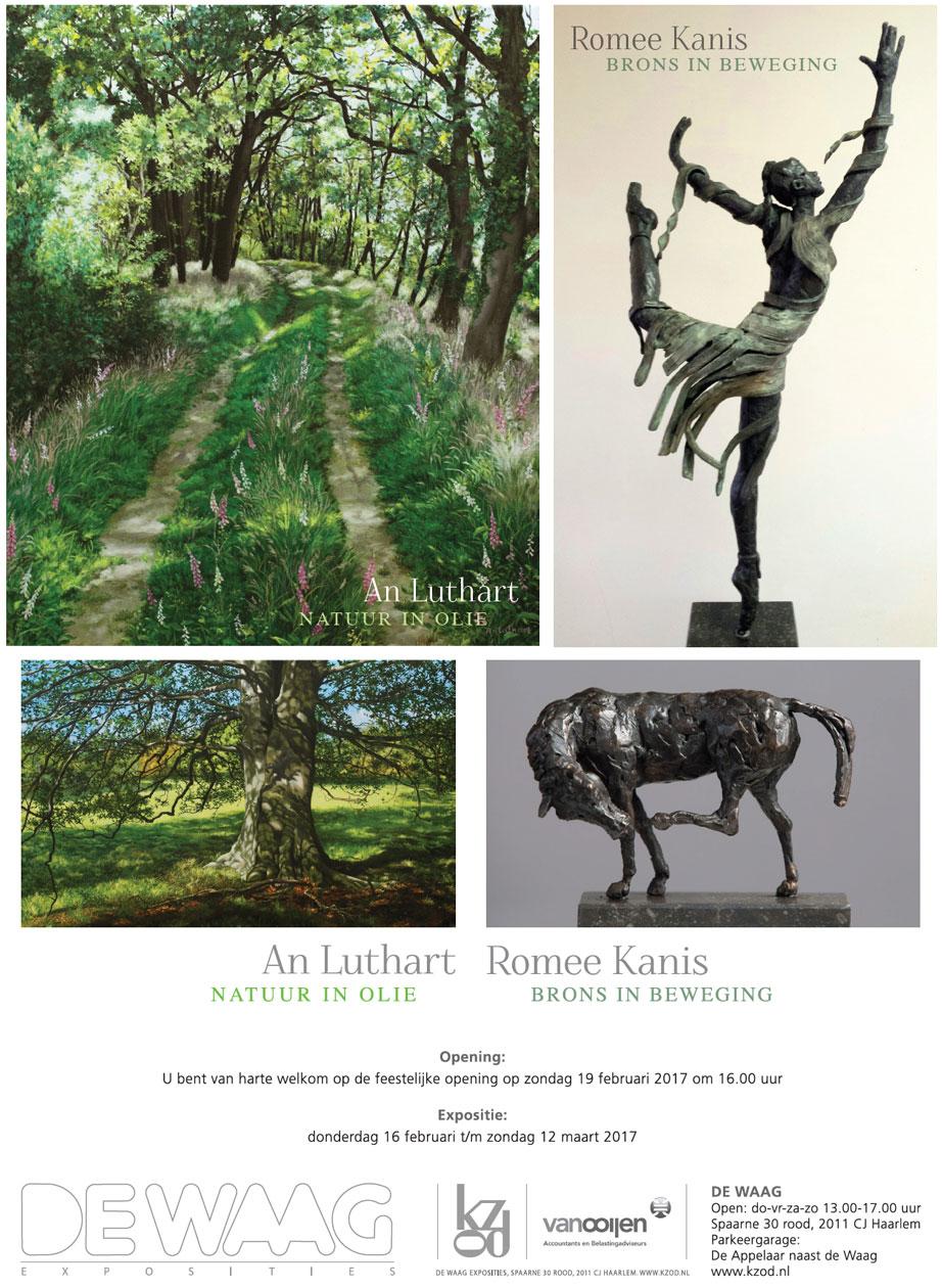An Luthart en Romee Kanis | expositie in de Waag