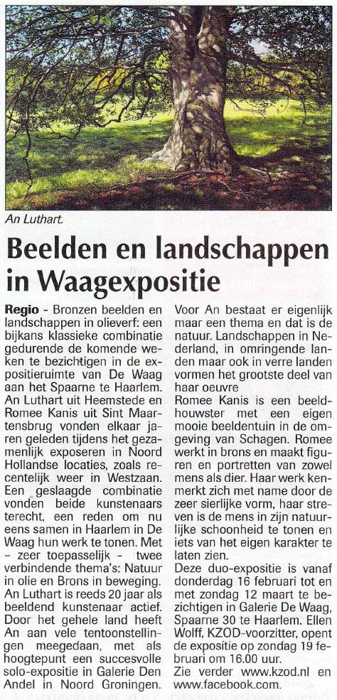 Beelden en landschappen in Waagexpositie [02]
