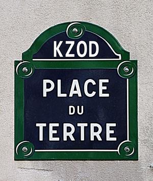 KZOD Place du Tértre 2018 | Wanneer en waar?