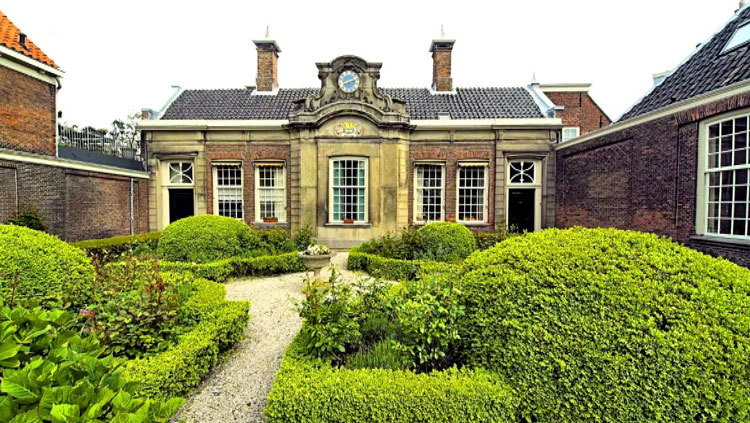 'Place du Tertre' in de Hofjes van Haarlem