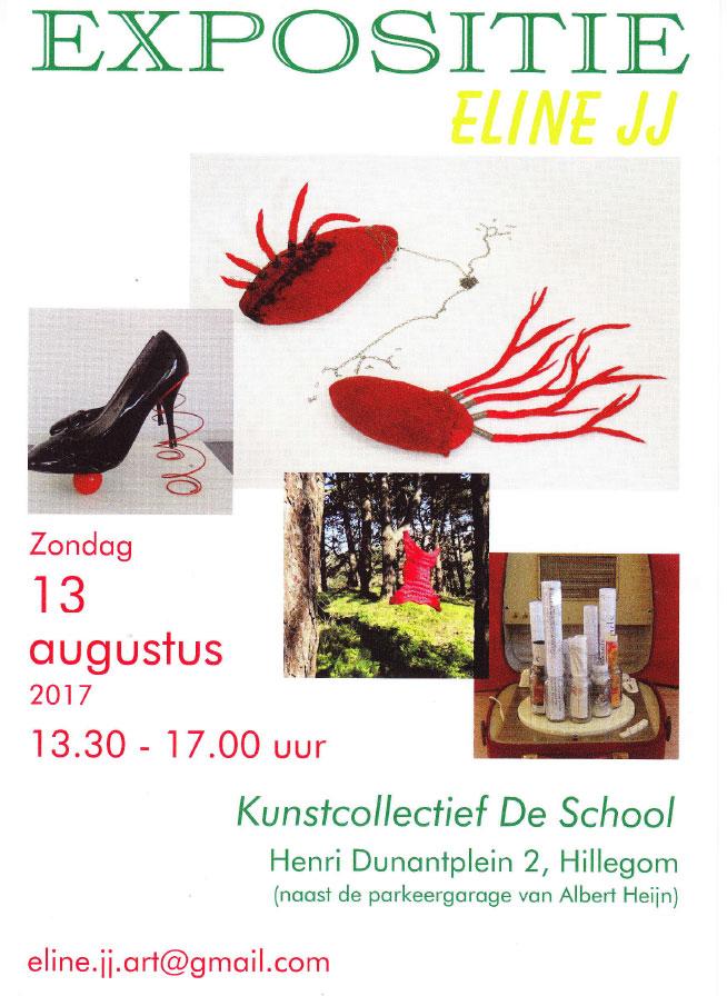 Expositie Eline JJ | Kunstcollectief De School