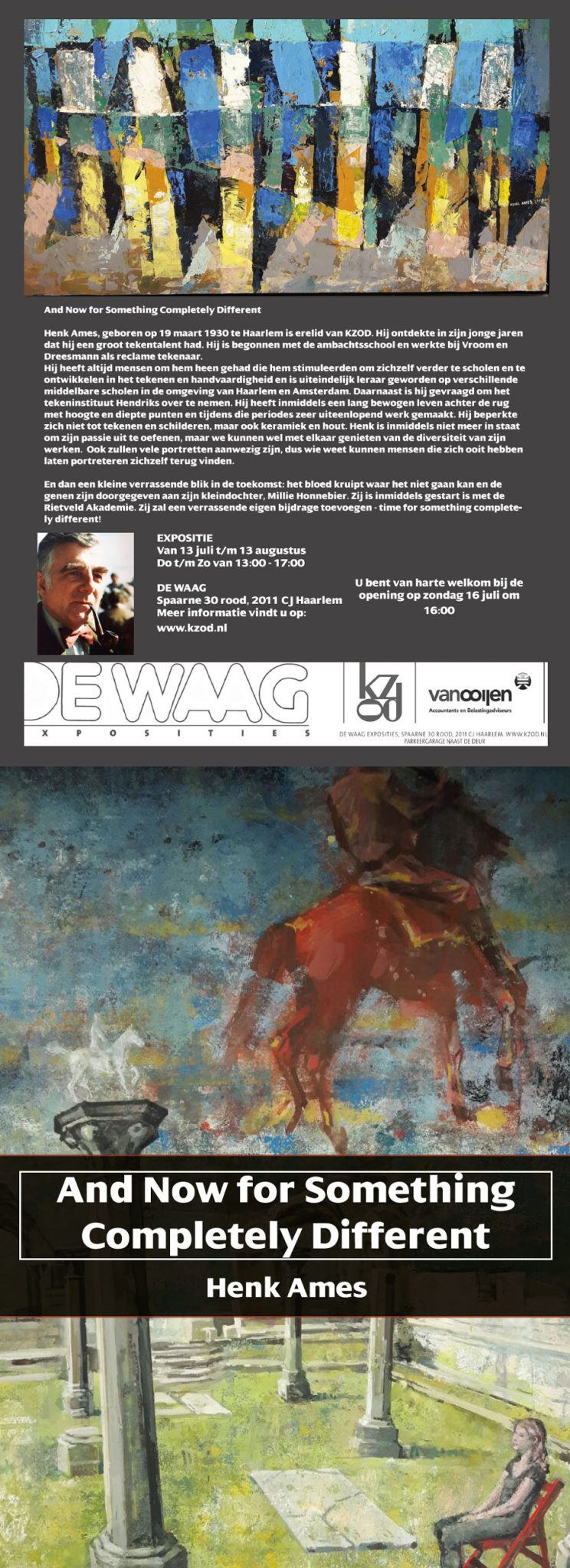 Expositie de Waag | Henk Ames | And Now for Something Completely Different