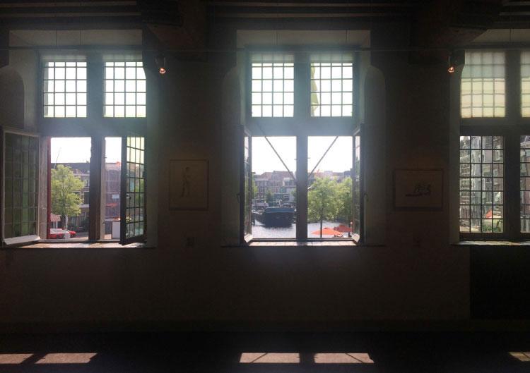 'Kunst is meer dan je ziet' | Werk van zes leden KZOD in de Waag | curator: Anton Meester