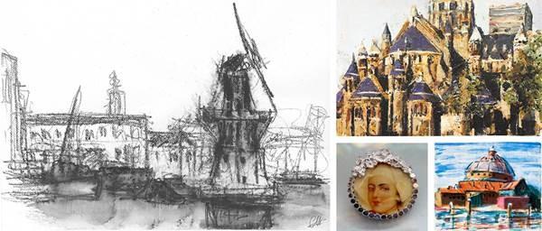 Lizan van Dijk vertegenwoordigd bij expositie 'Ode aan Haarlem'