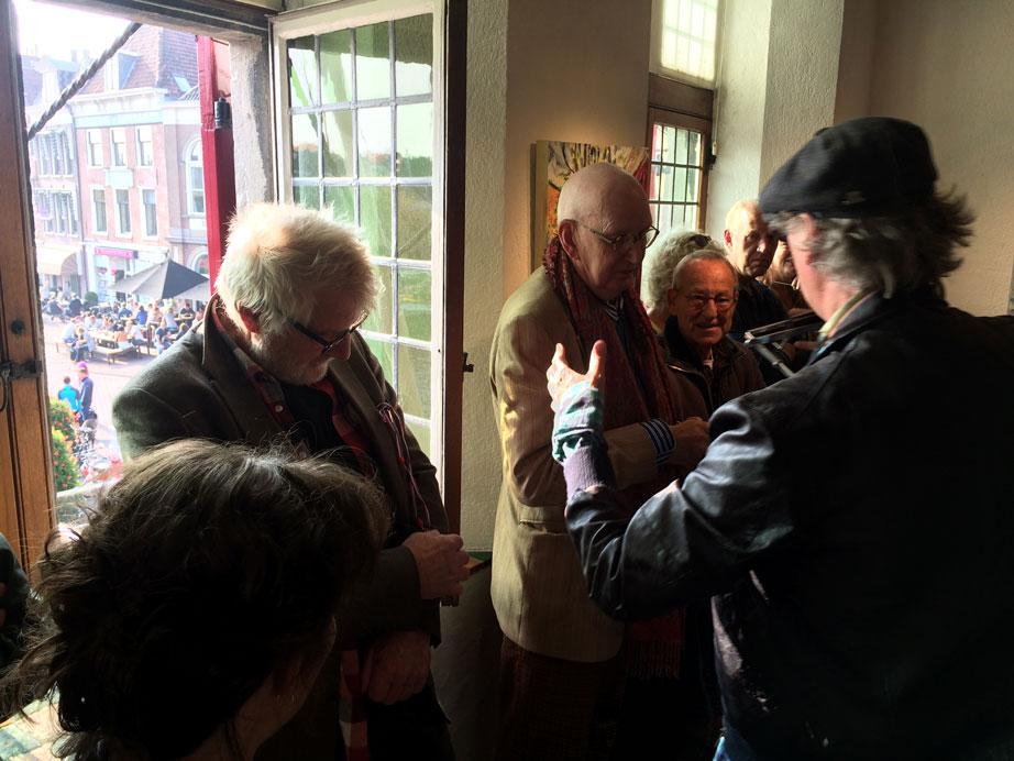 Opening expositie Kleurrijk Haarlem – 27 september 2017