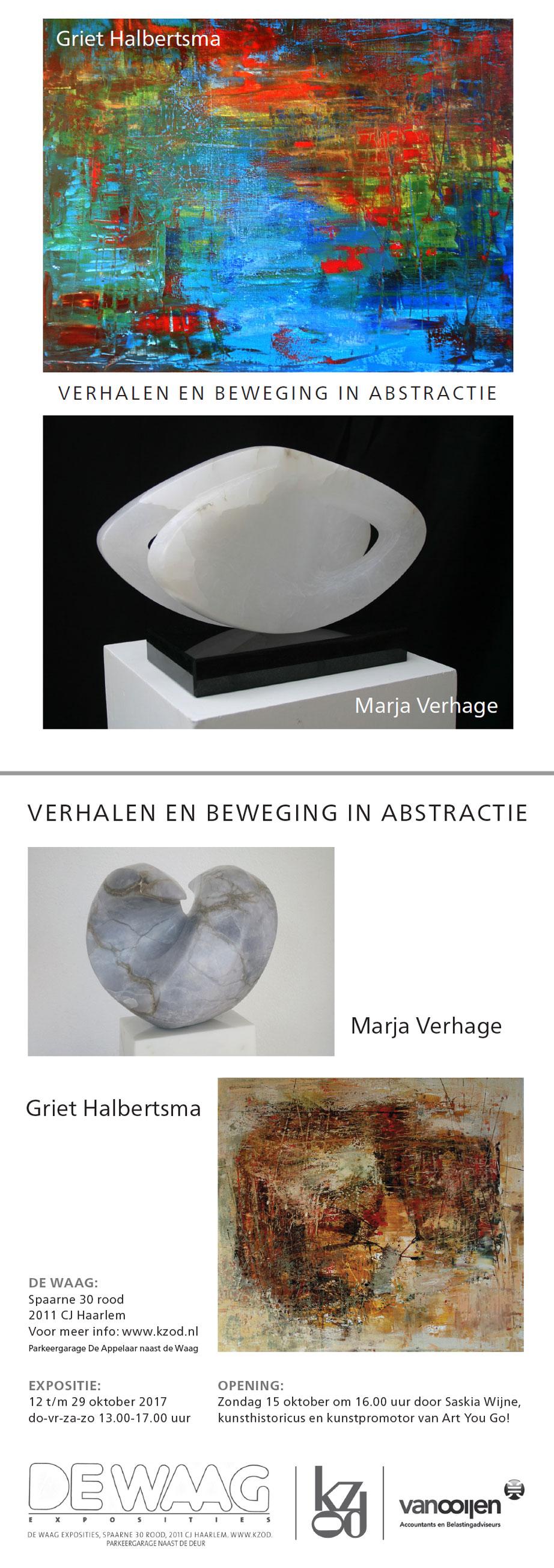 Marja Verhage en Griet Halbertsma