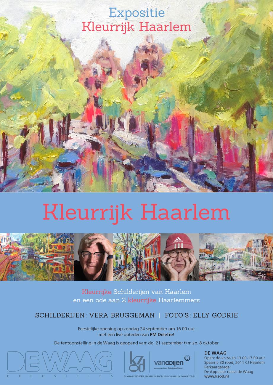 Vera Bruggeman | Kleurrijk Haarlem