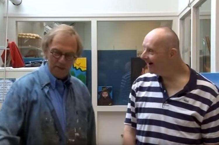 TV uitzending van KZOD en Hartekampkunstenaars
