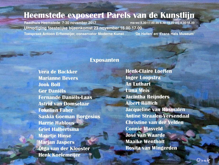 Heemstede exposeert Parels van de Kunstlijn | met 10 KZOD kunstenaars