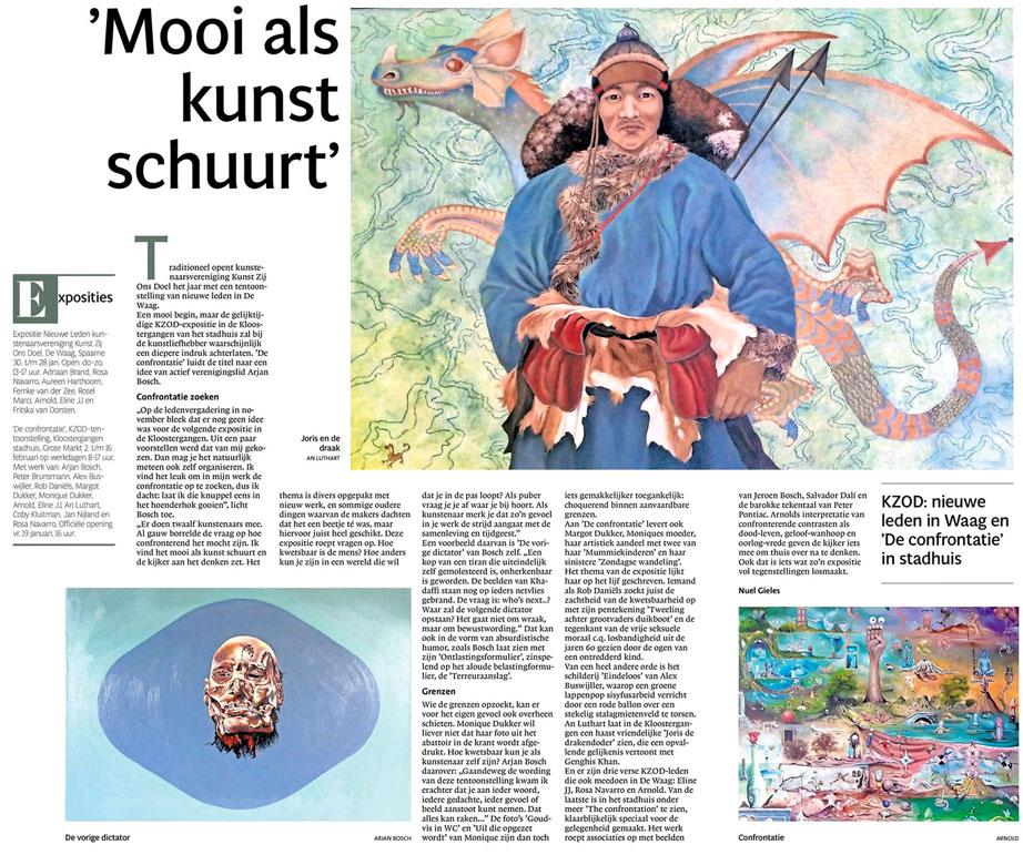 Persbericht   'Mooi als kunst schuurt'