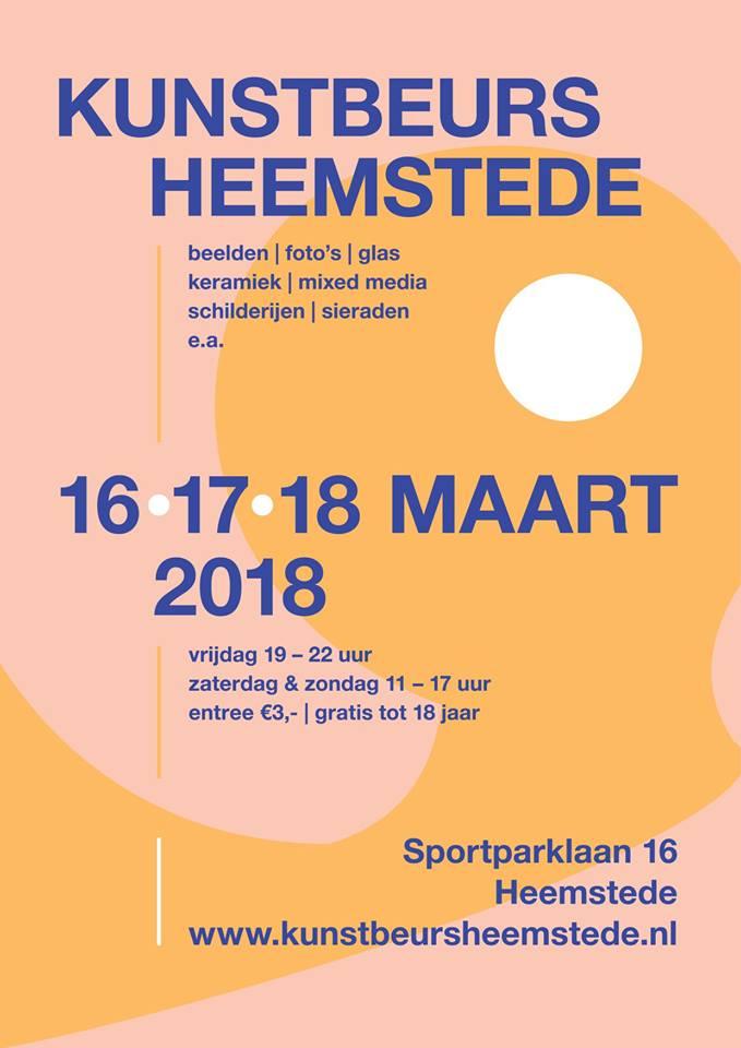 KZOD-ers nemen deel aan Kunstbeurs Heemstede 2018
