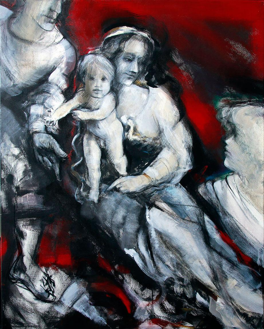 Moederliefde thema Waagexpositie