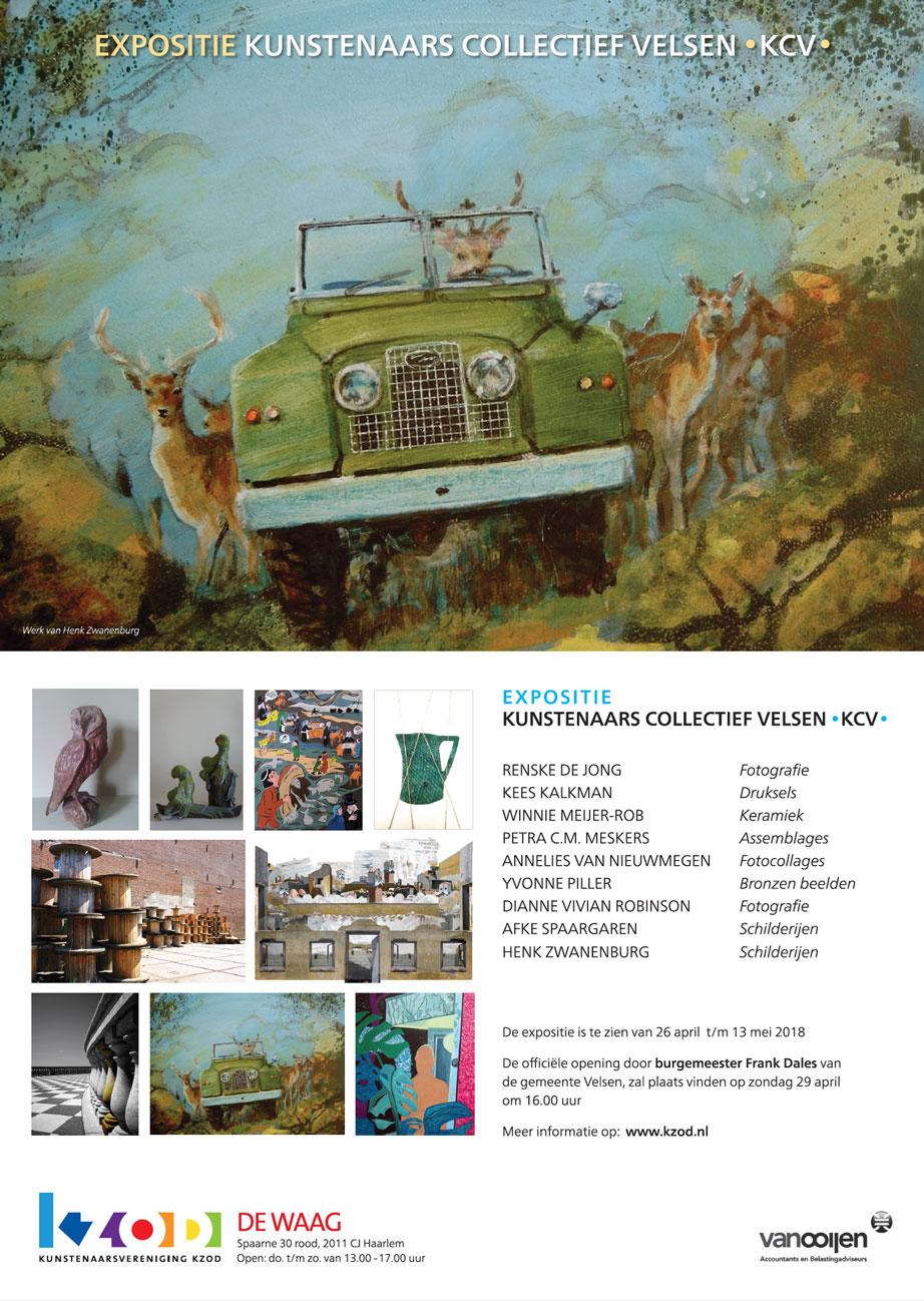 Expositie de Waag | Kunstenaars Collectief Velsen KCV