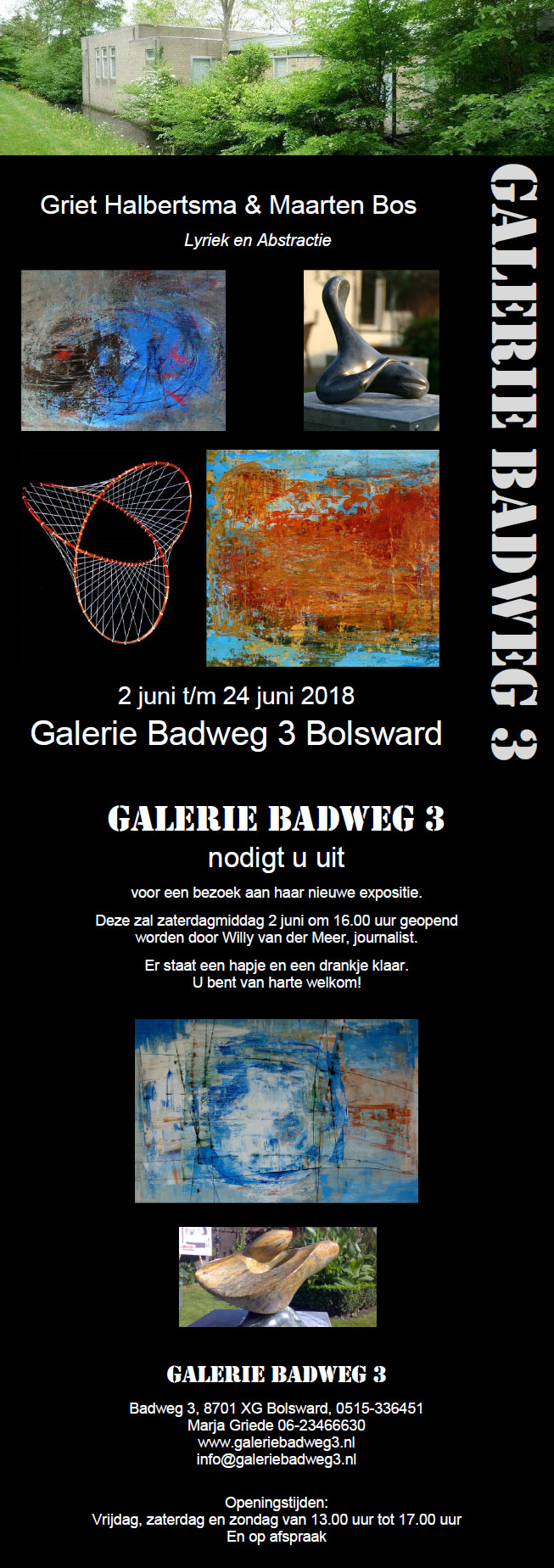 Expositie Griet Halbertsma in Bolsward