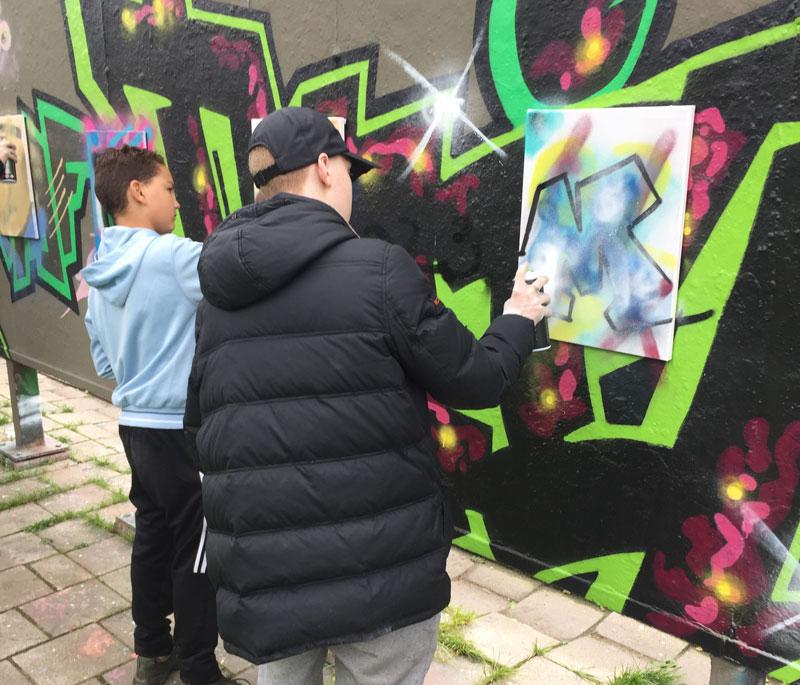 'Mooie Graffiti is niet lelijk'