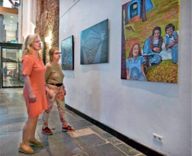Europa en jarige Janskerk belicht op exposities van Kunst Zij Ons Doel