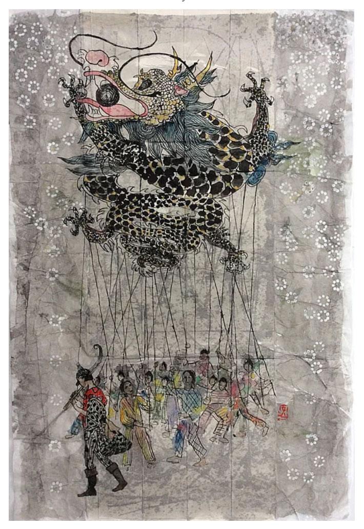 Larissa Neslo | Solo expositie 'Er was eens … nu is'