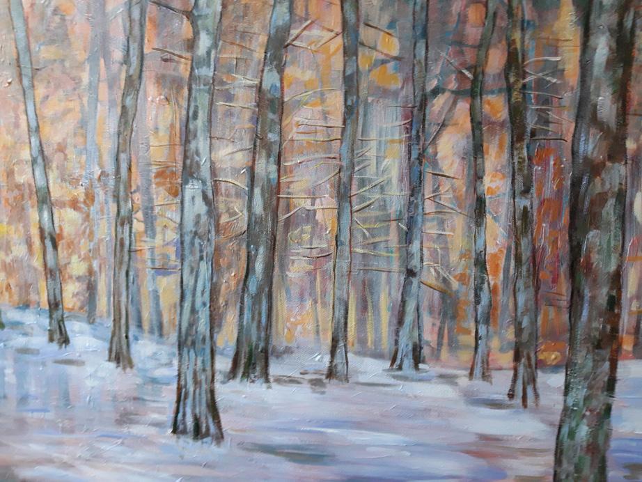 Waagexpositie met bomen als inspiratiebron